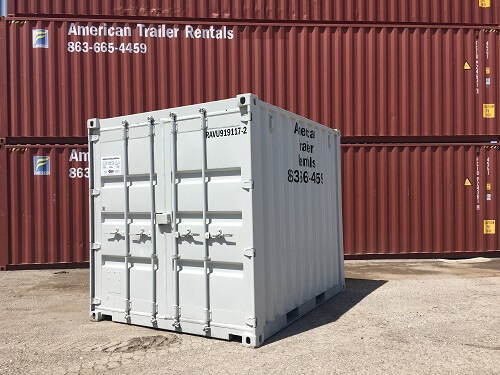 How Many Types Of Shipping Containers Are There American Trailer Rentals