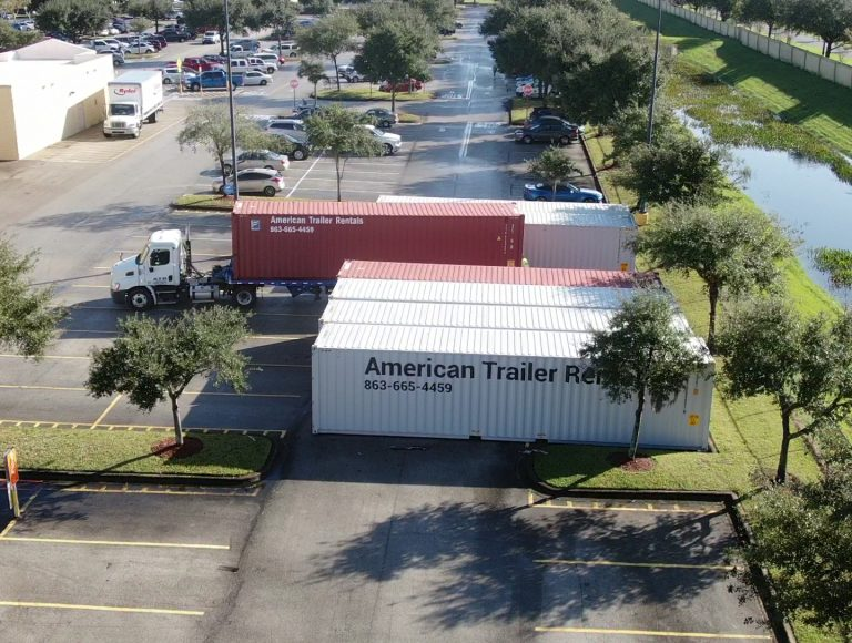 Steel Containers for rent Orlando