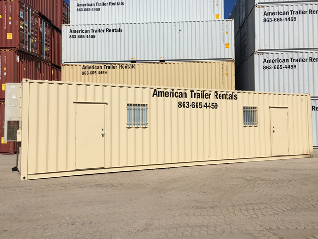 40' Double Office Container for Sale