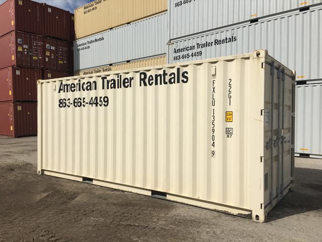 20' Double Door Storage Container