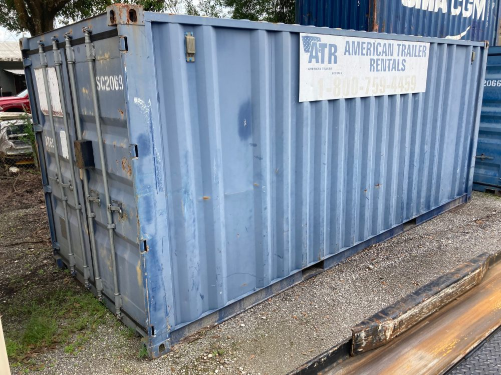 20 foot storage container for sale