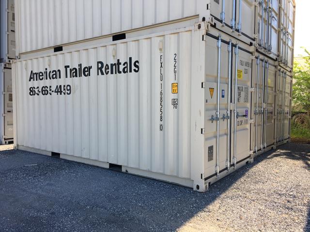 20' Double Door Storage Containers