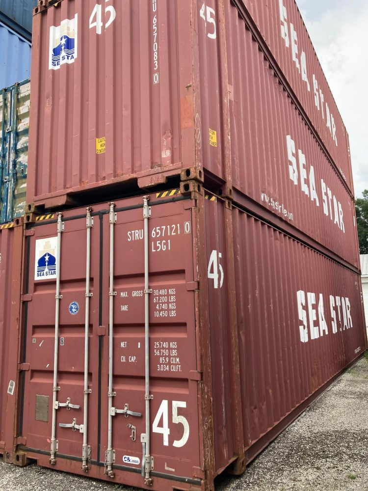 45 foot storage container for sale