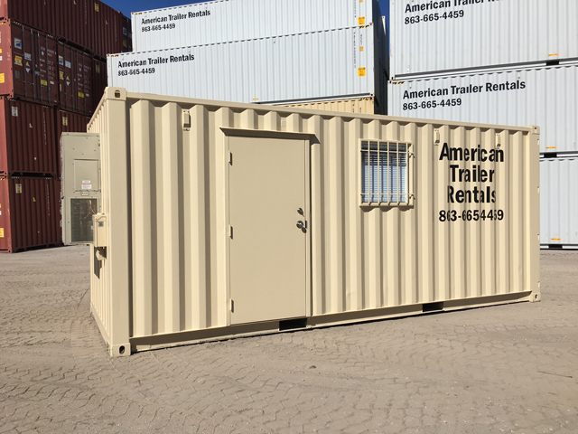20' Office container