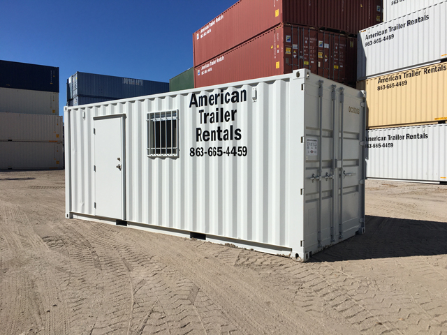 20 foot office container