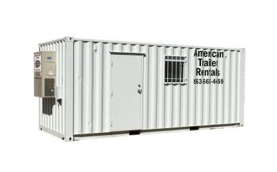 20' Office Container with storage
