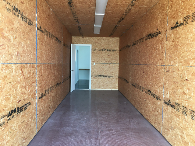 40'Office Container with storage interior