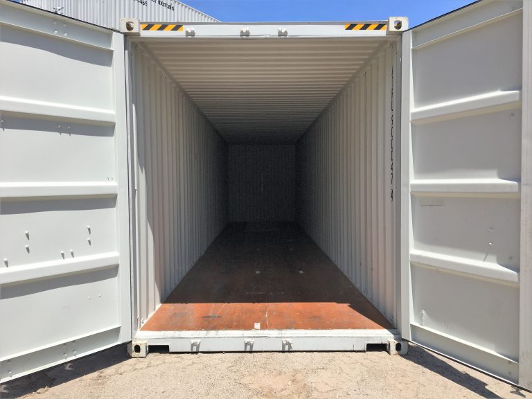 High Cube Storage Container Interior