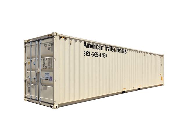 40' Double Door Storage Container