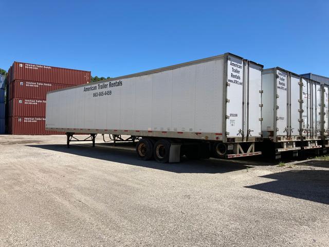 53 foot storage trailers