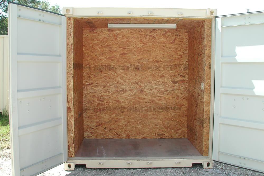 20' Office Container Storage Interior