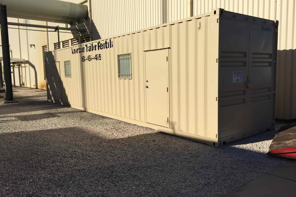40' Double Office Container