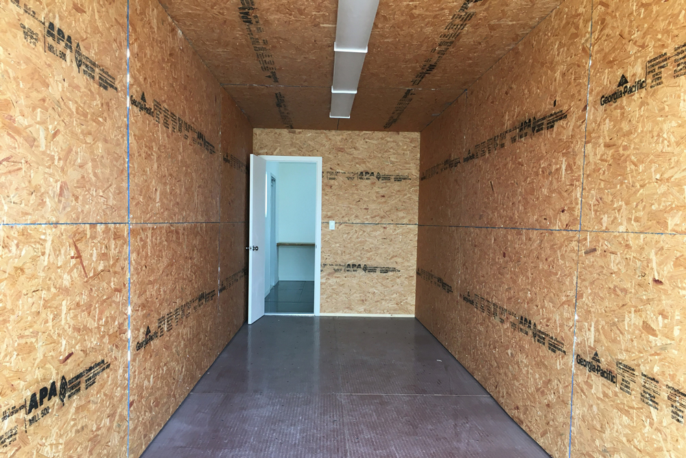 40' Office container with storage