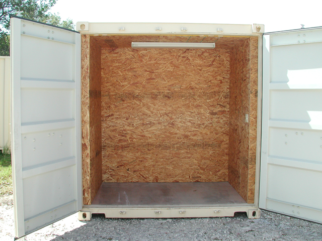 Office Container with Storage Combo