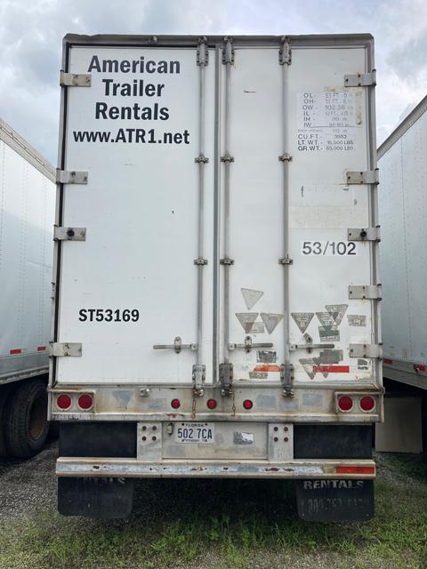 swing door storage trailer for sale