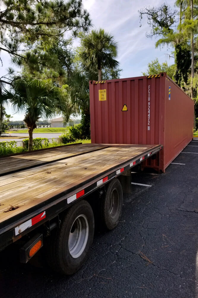 40' Storage Container delivery