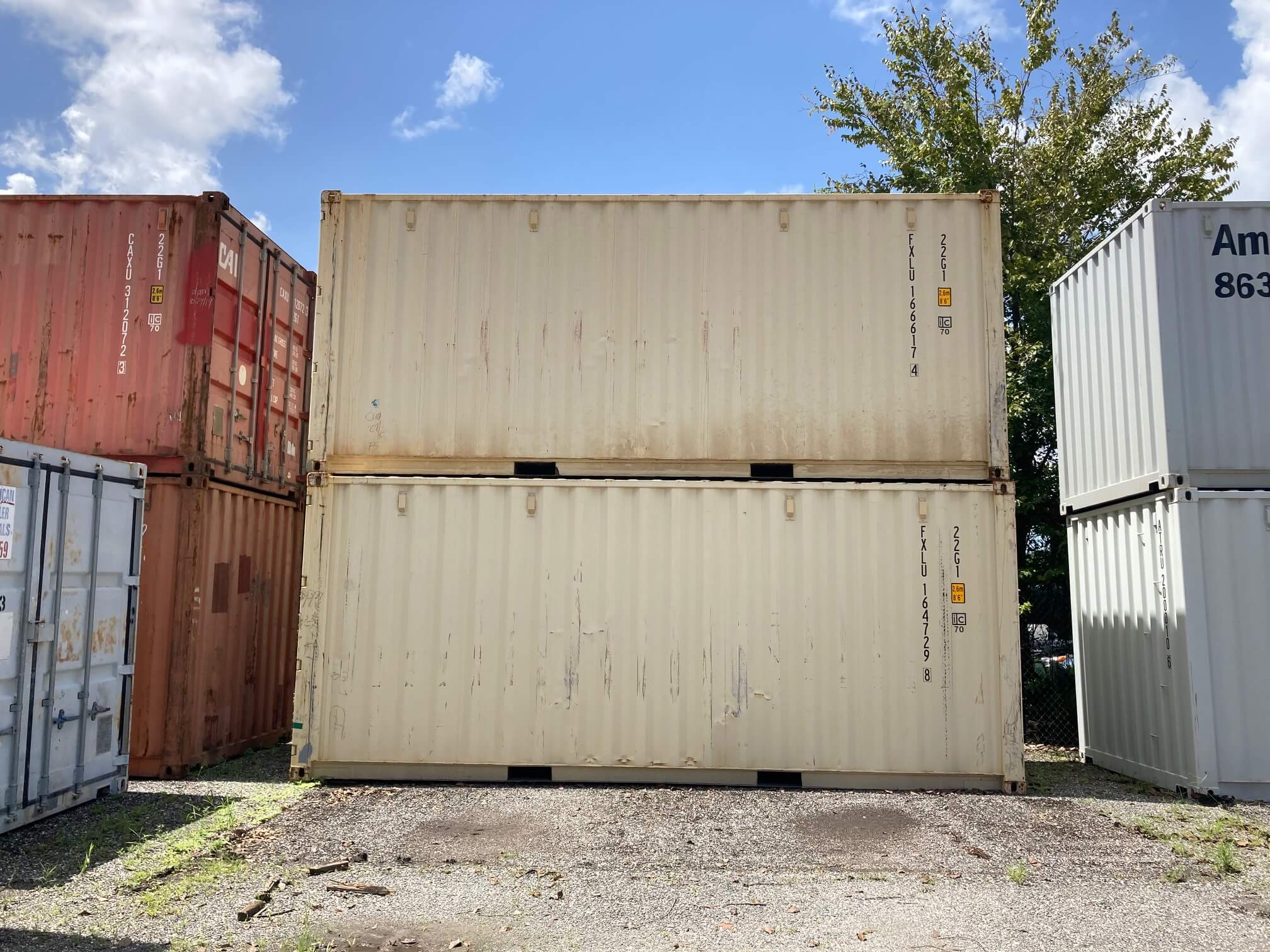 20' Lightly Used Containers