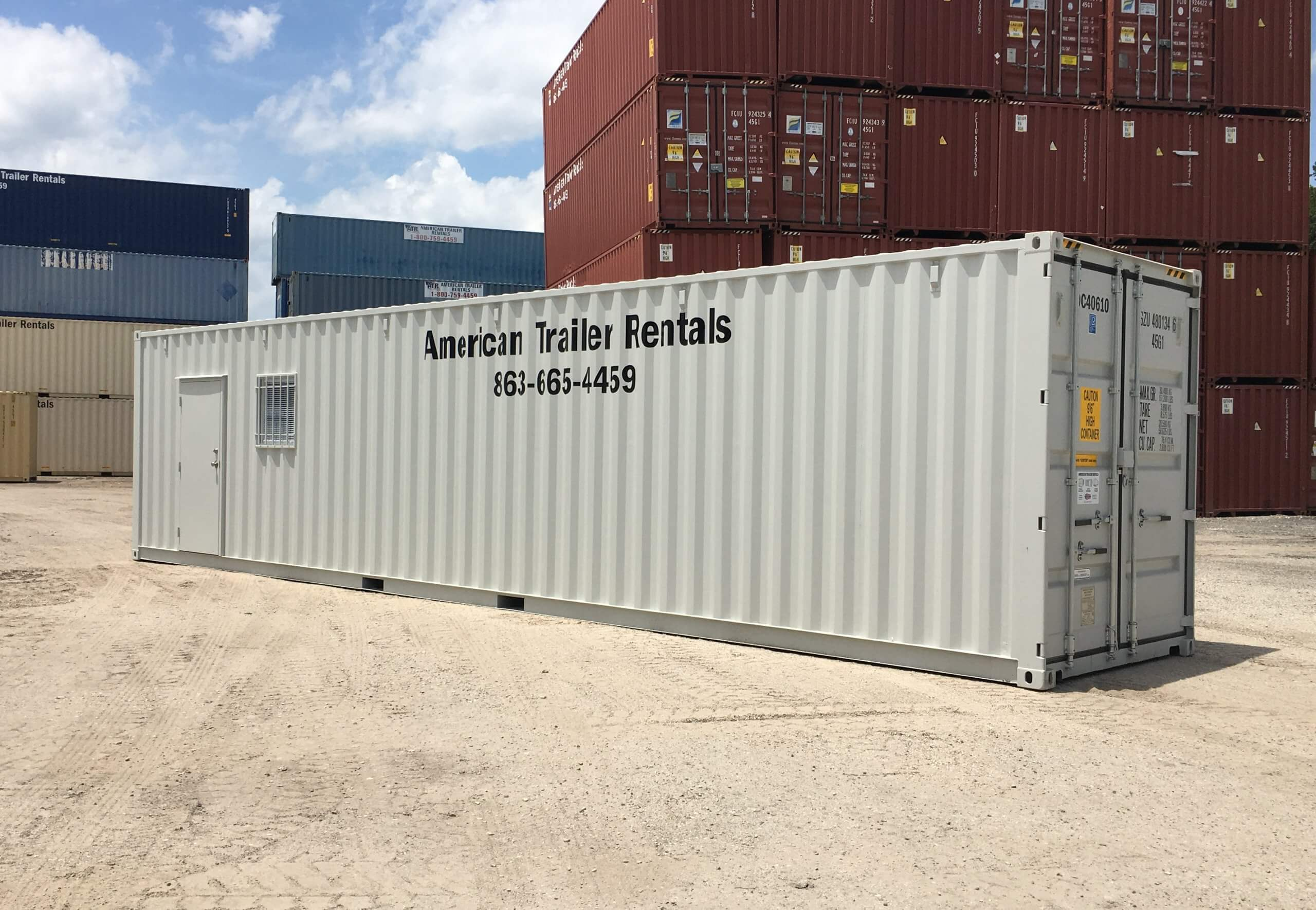 40 Ft Office Container