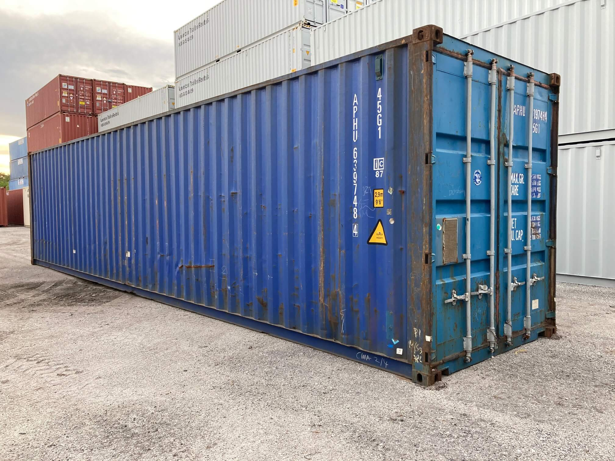 40' Used High Cube Container