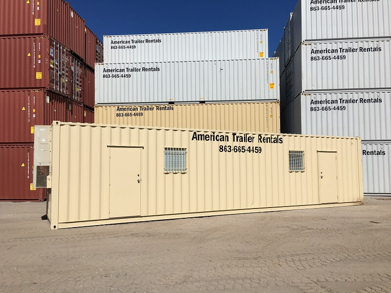 40 foot office container