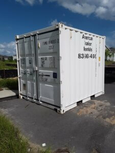 Grey storage container - 10 foot